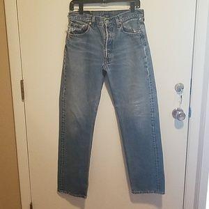 Mens Classic 501 Levi's Jeans 32 x 32